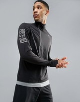Puma Nightcat Powerwarm 1/4 Zip Sweat In Black 51438001