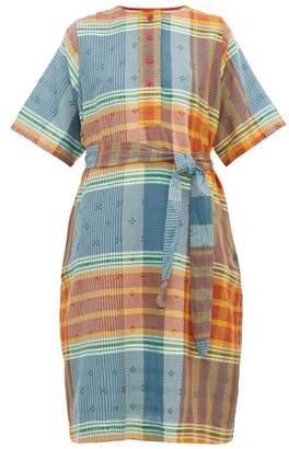 Ace&Jig Arena Button-front Cotton Dress - Womens - Multi