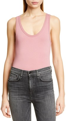 Rag & Bone The Tank Stretch Cotton Bodysuit