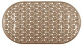 InterDesign Baby Feet Non-Slip Bath Mat for Bathroom Shower or Tub with Suction Cups – Amber