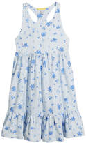 Joules Juno Stripe & Floral Sleeveless Dress, Size 3-10