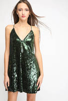 Lucy Paris Sequins Mini Dress