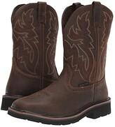 Wolverine Rancher Wellington Steel Toe (Dark Brown/Rust) Men's Work Boots
