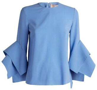 Roksanda Rana Layered Sleeve Top