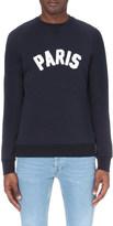 Sandro Parisien cotton-jersey sweatshirt