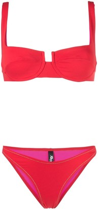 Reina Olga Two-Piece Reversible Bikini Set