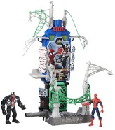 Spiderman Marvel Web City Showdown Play Set