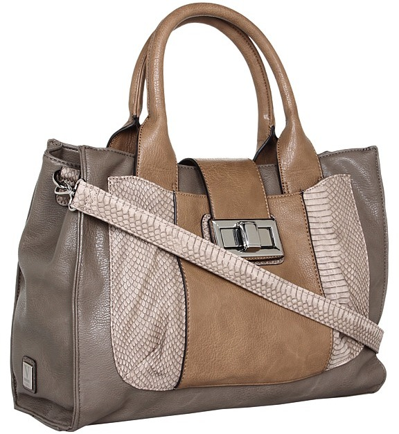 Kooba V Couture by Python Tote (Taupe) - Bags and Luggage