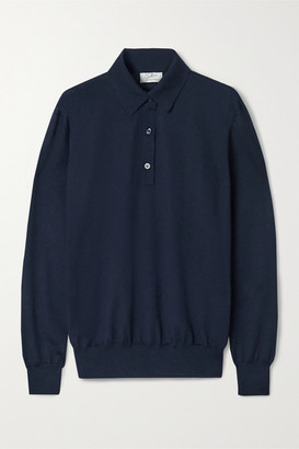 Giuliva Heritage Collection The Rebecca Cashmere Sweater - Navy