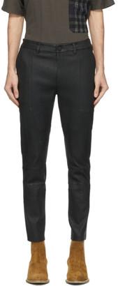 Frei Mut FREI-MUT Black Leather Emilio Trousers