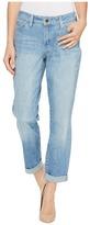NYDJ Jessica Relaxed Boyfriend in Bandana Discharge Print Women's Jeans