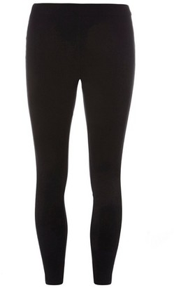 Dorothy Perkins Womens Petite Black Pull On Bengaline Trousers, Black