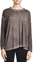 The Kooples Chain-Trim Long-Sleeve Tee