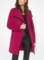 Michael Kors Wool-Blend Belted Coat