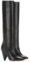 Isabel Marant Laith leather knee-high boots