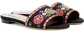 Tabitha Simmons Sprinkles Fest Embroidered Sandals