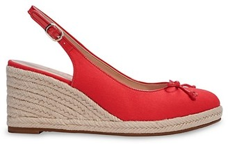 Kate Spade Panama Nights Slingback Wedge Espadrilles