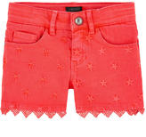 Ikks Embroidered shorts