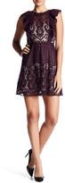 Parker Ruffle Sleeve Lace Dress