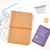 ABCsell Wallet Bag, ABC New Travel Leather Bag Passport Card Holder Protector Cover Case Wallet Bag