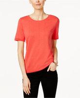 Charter Club Short-Sleeve Sweatshirt, Only at Macy's
