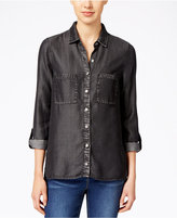 KUT from the Kloth Denim Button-Front Shirt