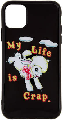 Marc Jacobs Black Magda Archer Edition My Life Is Crap iPhone 11 Case
