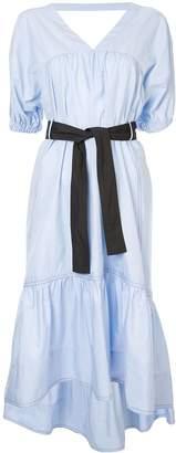 3.1 Phillip Lim Midi Poplin Flared Dress