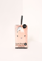 Missguided Oh K! Sweet Peach Scented Detangle Brush Orange