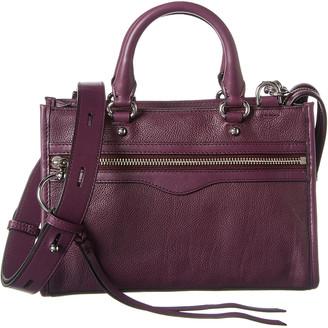 Rebecca Minkoff Micro Bedford Zip Leather Satchel