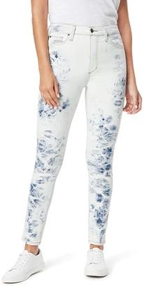 Joe's Jeans Bella Ankle Cut Hem in Hydrangea (Hyrdrangea) Women's Jeans