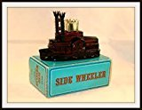 Avon Spicy After Shave Side Wheeler Decanter 5 oz.