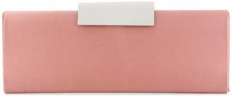 Sergio Rossi Colour-Block Formal Clutch