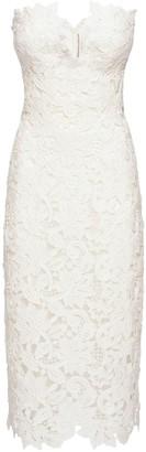 Ermanno Scervino Off-the-shoulder Cotton & Lace Dress