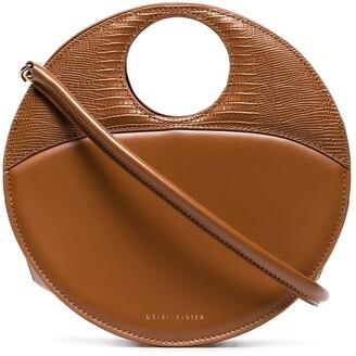 USISI SISTER Charlie leather shoulder bag