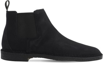 Clarks 25mm Suede Chelsea Boots