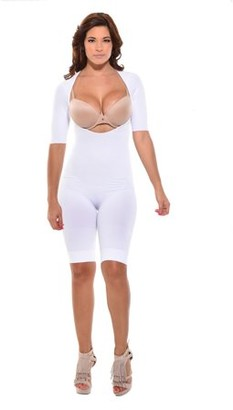 Your Contour Mid-Thigh Arm control Bodysuit. Body Shaper,Arm Shapewear