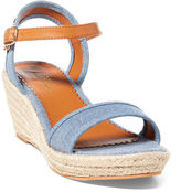 Ralph Lauren Big Kid Carmen Chambray Sandal