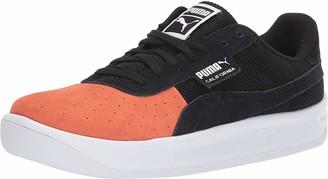 Puma Men's California Summer Sneaker Nasturtium Black White 5.5 M US