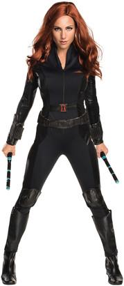 Rubie's Costume Co Rubie's Women's Costume Outfits 0 - Black Widow 3-D Costume Set - Women