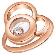 Chopard Happy Dreams Ring with Diamond in 18K Rose Gold