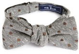 The Tie Bar Men's Revolve Dots Silk Bow Tie