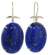 Jamie Joseph Artisan Oval Lapis Stick Earrings