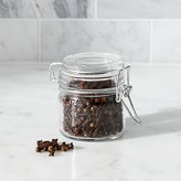Crate & Barrel Round Mini Jar with Clamp