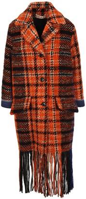 Marni Check Tweed Coat