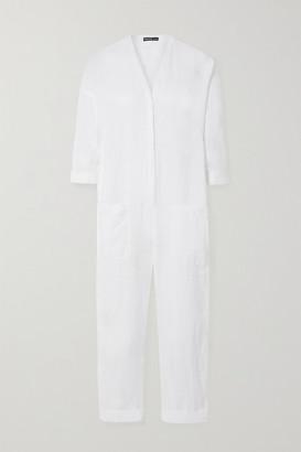 James Perse Linen Jumpsuit - White
