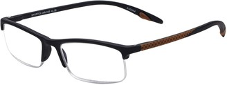 Select A Vision Select-A-Vision Men's Sportex Ar4150 Sport Red Reading Glasses 29 mm