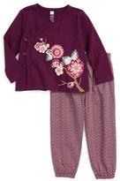 Tea Collection Akira Tunic & Pants Set (Baby Girls)