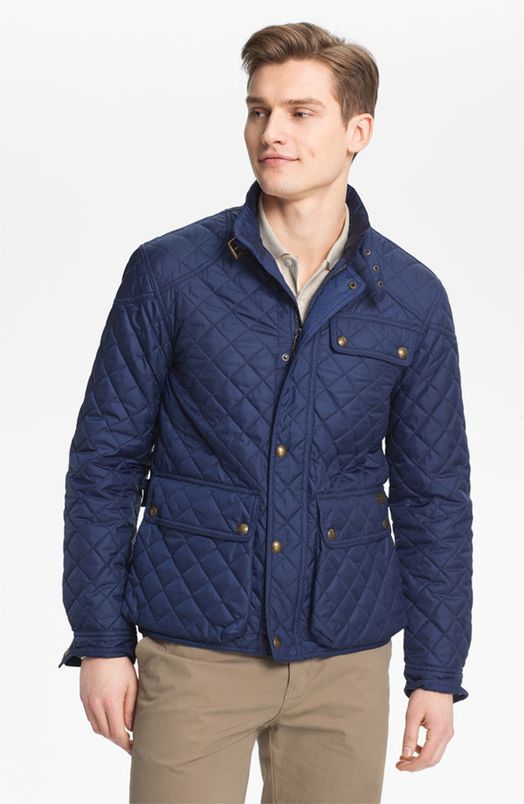Polo Ralph Lauren 'Cadwell' Quilted Bomber Jacket