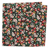The Hill-Side Small Flower Print Pocket Square